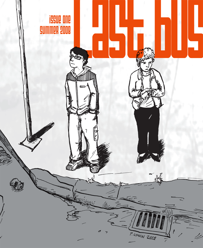 Last Bus, issue one cover